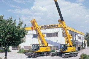 Sennebogen telescopic cranes