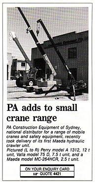 maeda crawler 04 - Pacecranes Editorials