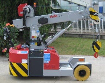 , Valla 25E-EL Crane