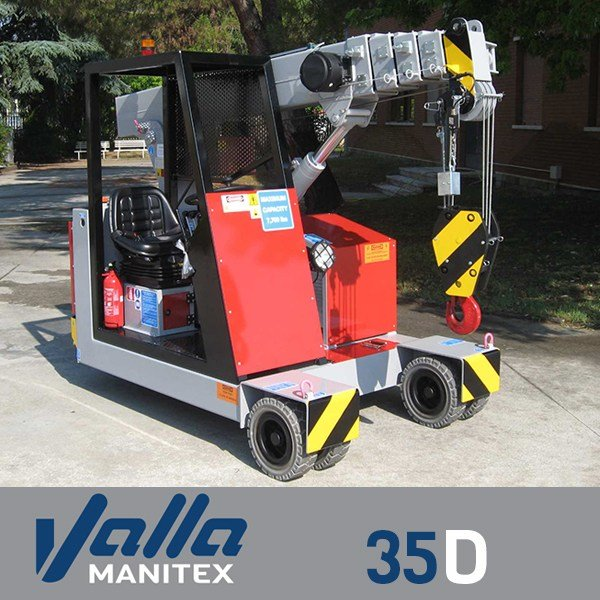 35d 3 - Valla 35E-D Pick and Carry Crane