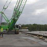 5500 wharf 150x150 - 5500E Crawler Crane