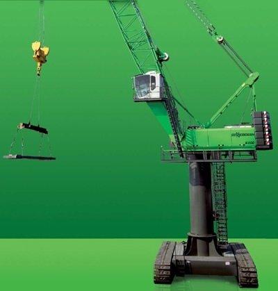 sennebogen harbour cranes