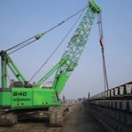 Sennebogen 640 heavy duty cycle cranes