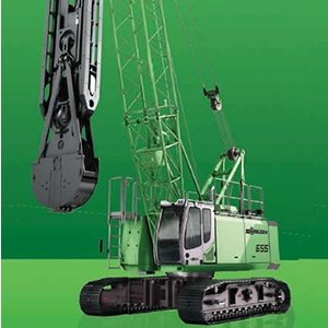 Sennebogen 655 heavy duty cycle cranes