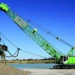 Sennebogen dragline cranes