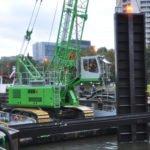 Sennebogen 655 duty cycle crane