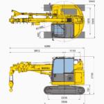 , CC423 Mini Crawler Crane