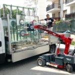 GW425 glass lifter onsite