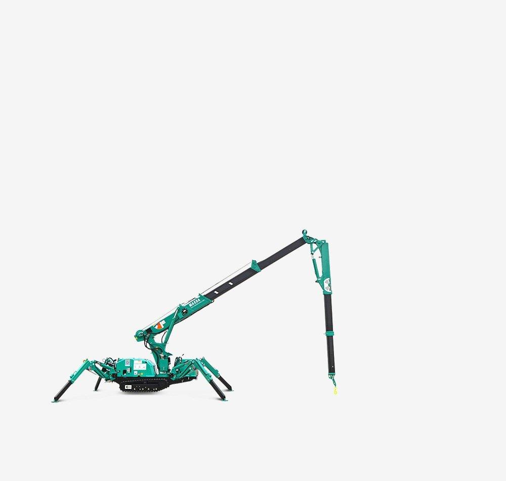 Maeda MK1033 spider crane