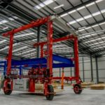 mobile rubber tyred gantry cranes