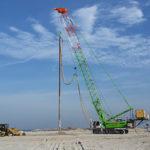 Sennebogen 3300 crawler crane