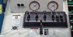 mobile gantry crane controls