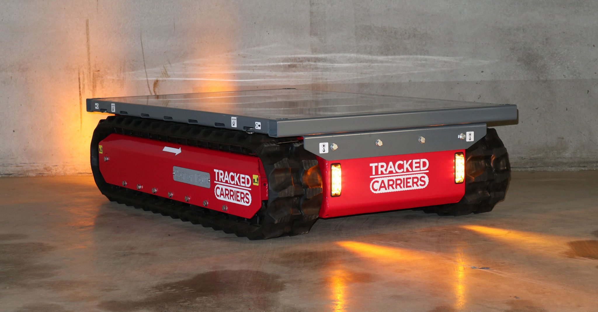 Tracked Carriers Material Handling